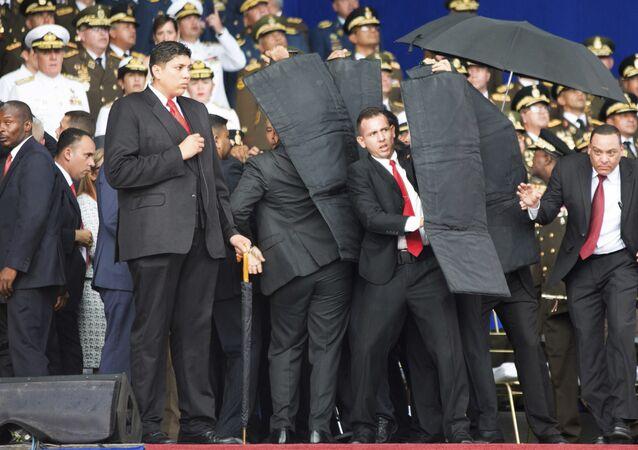 Atentado contra el presidente de Venezuela, Nicolás Maduro (archivo)