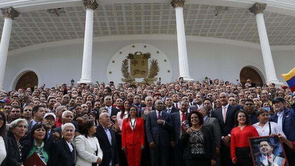 La Asamblea Nacional Constituyente de Venezuela - Sputnik Mundo