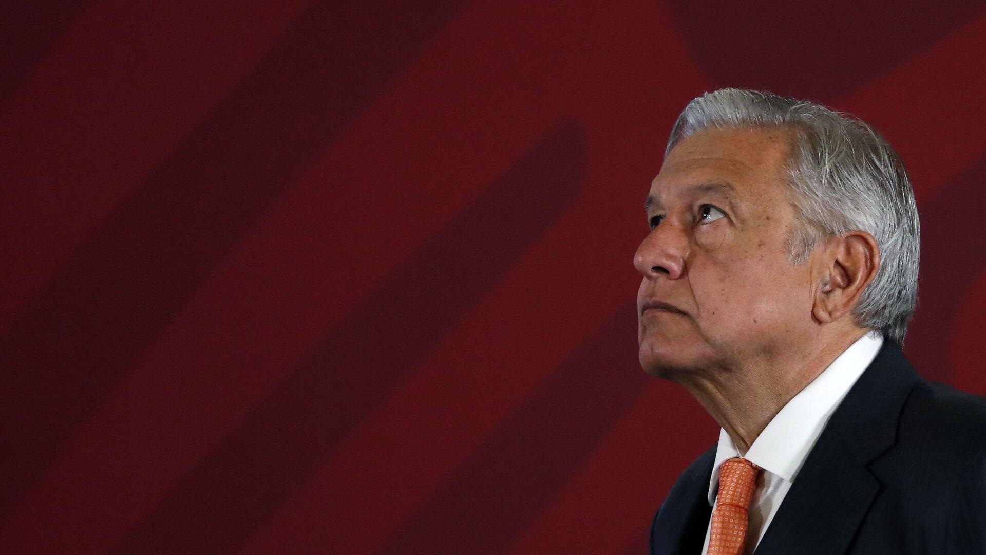 Andrés Manuel López Obrador, presidente de México - Sputnik Mundo, 1920, 05.07.2021