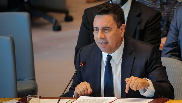 Samuel Moncada, representante de Venezuela ante las Naciones Unidas - Sputnik Mundo