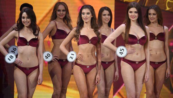 Trajes de baño y vestidos de noche: la final de Miss Rusia 2019, al detalle - Sputnik Mundo