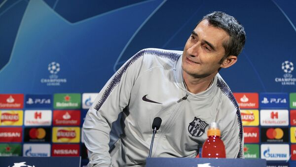 Ernesto Valverde, entrenador de Barça - Sputnik Mundo