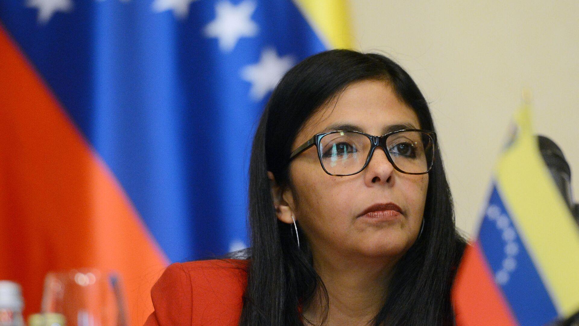 Delcy Rodríguez, vicepresidenta de Venezuela - Sputnik Mundo, 1920, 13.04.2021