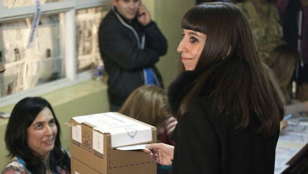 La hija de la expresidenta argentina Cristina Fernández de Kirchner, Florencia Kirchner - Sputnik Mundo