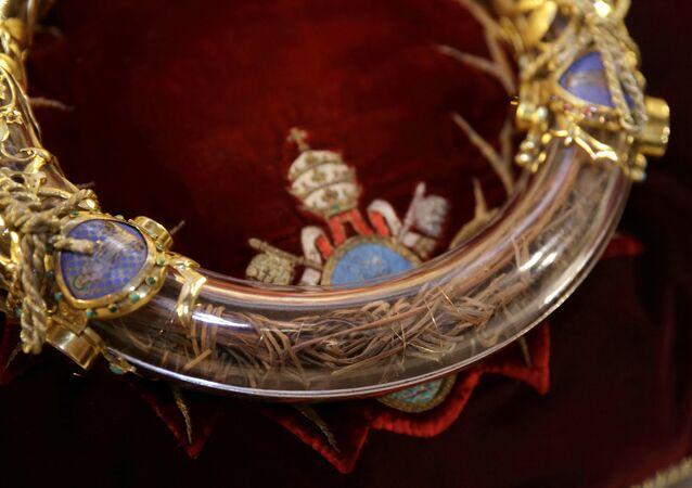 La Corona de Espinas de Jesús (archivo)