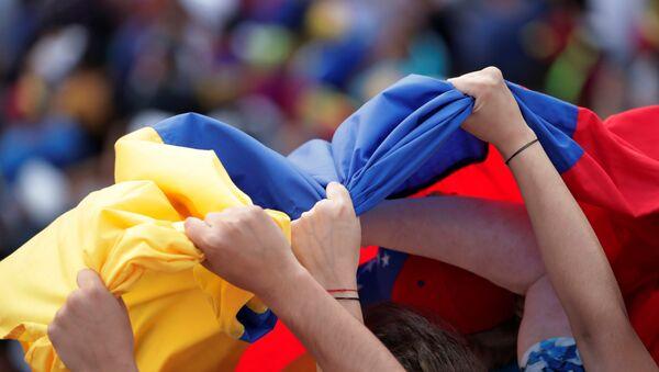 La bandera de Venezuela - Sputnik Mundo