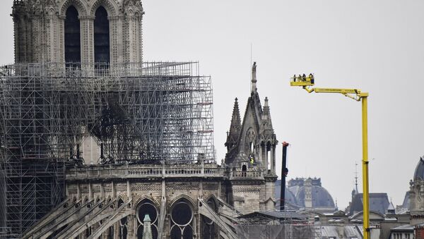 La catedral parisina de Notre Dame - Sputnik Mundo