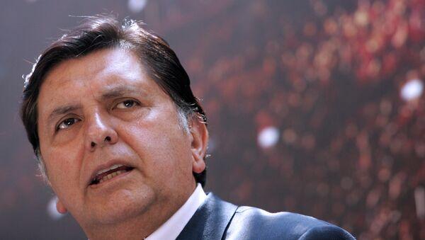 Expresidente de Perú Alan García - Sputnik Mundo