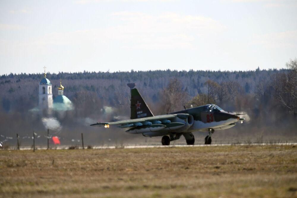 Así se prepara Rusia en las alturas para el desfile militar del Día de la Victoria