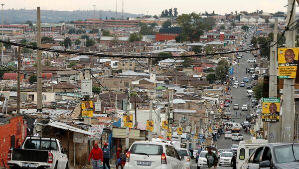 Las calles de Alexandra, en las afueras de Johannesburgo (Sudáfrica) - Sputnik Mundo