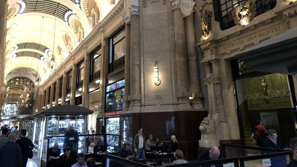 Interiores de la Galería Güemes de Buenos Aires - Sputnik Mundo