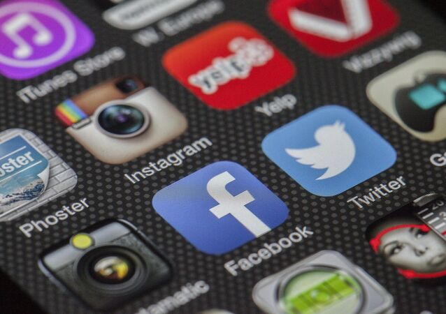 El logo de Instagram y Facebook