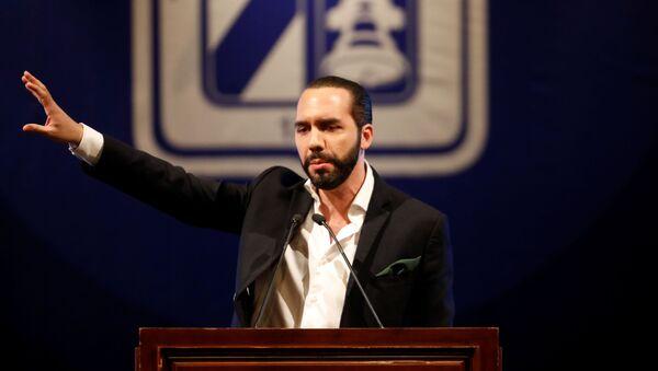 Nayib Bukele, presidente electo salvadoreño - Sputnik Mundo