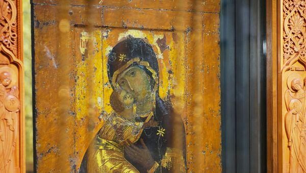 El icono de la Virgen María de Vladímir - Sputnik Mundo