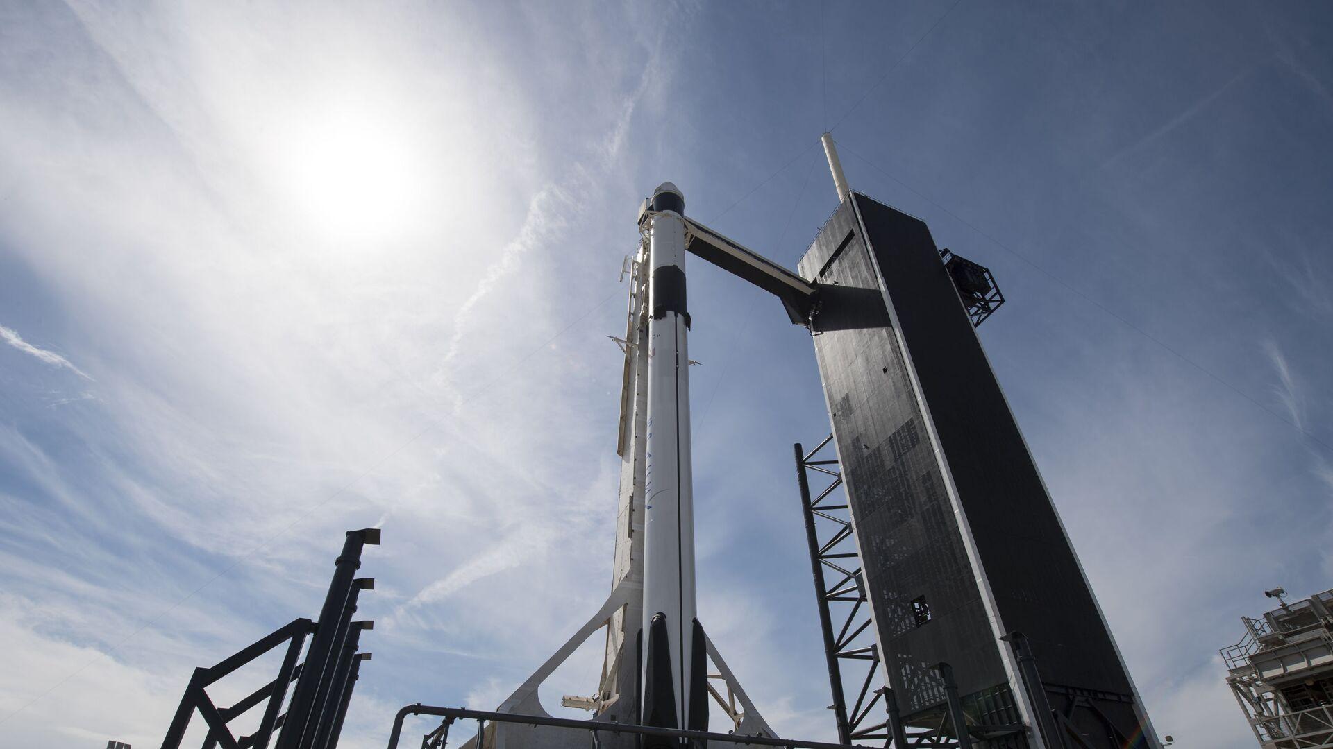La nave espacial Crew Dragon de SpaceX - Sputnik Mundo, 1920, 24.03.2021