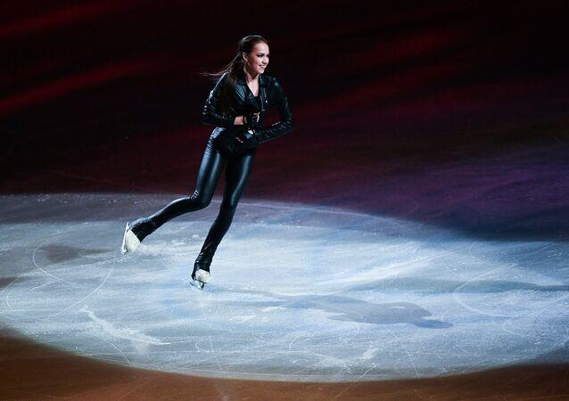 Alina Zaguítova, patinadora rusa