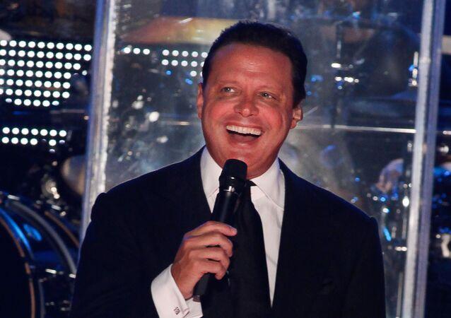 Cantante mexicano Luis Miguel (archivo)