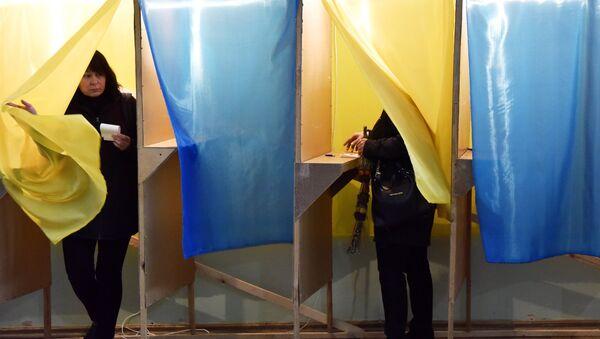 La segunda vuelta de las elecciones presidenciales en Ucrania - Sputnik Mundo