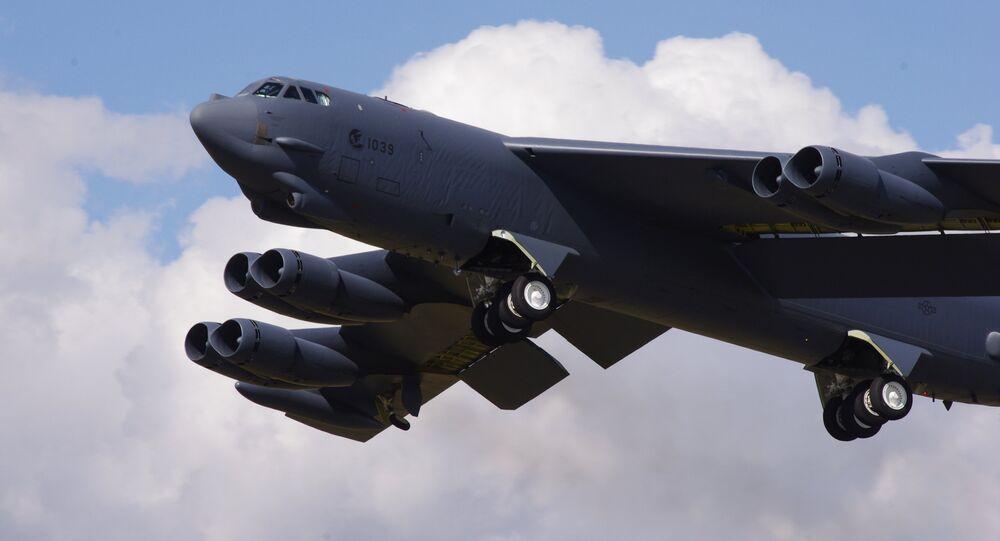 Bombardero estadounidense B-52 Stratofortress