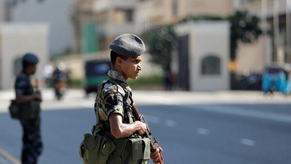Militares en Colombo, Sri Lanka - Sputnik Mundo