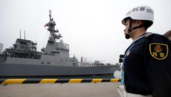 China celebra a lo grande el 70 aniversario de su Armada con muchos invitados extranjeros - Sputnik Mundo