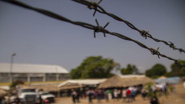 Mapastepec, Chiapas: Albergue del Gobierno mexicano donde se entregan visas de visitante regional, pero se niegan las humanitarias - Sputnik Mundo
