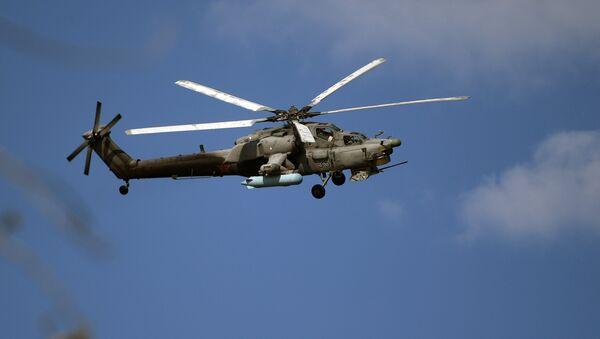 El Cazador nocturno Mi-28NM - Sputnik Mundo