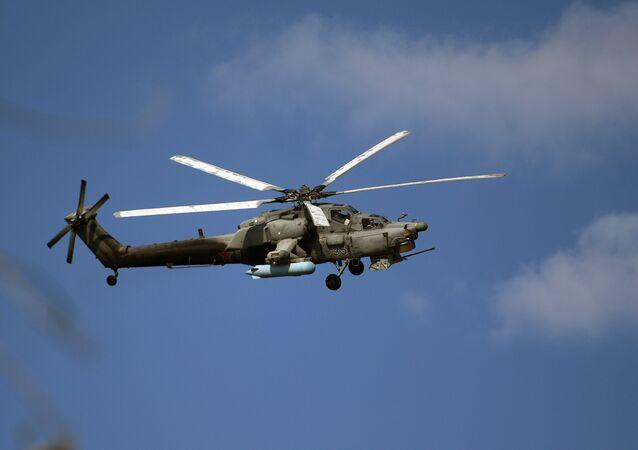 El Cazador nocturno Mi-28NM