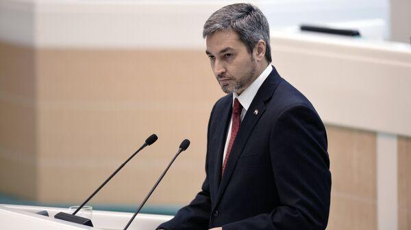 Mario Abdo Benítez, presidente de Paraguay (47 años) - Sputnik Mundo