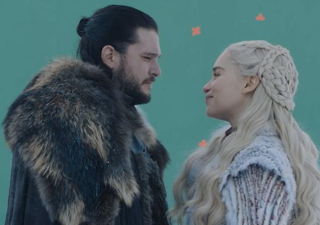 Jon Snow y Daenerys Targaryen