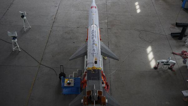 El cohete Jiagen-1, diseñado por la Universidad de Xiamen - Sputnik Mundo