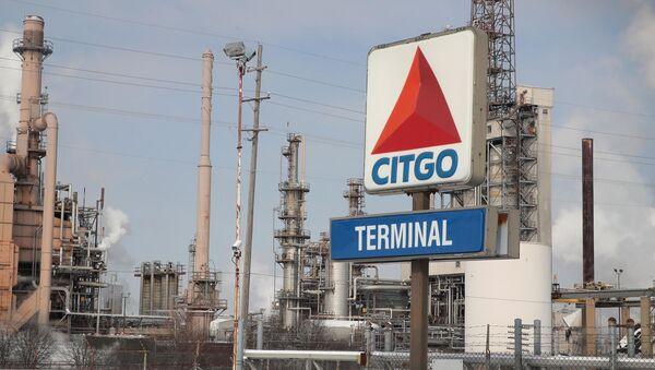 Refinería de Citgo, filial de la empresa venezolana PDVSA, ubicada en Illinois, EEUU - Sputnik Mundo