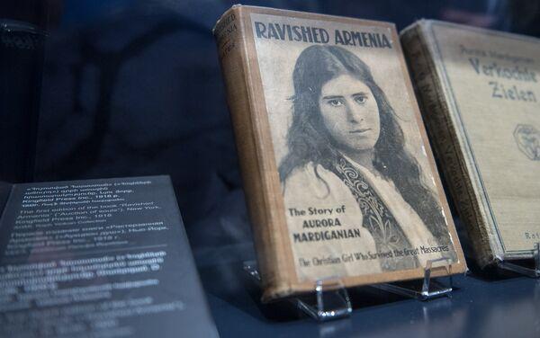 El libro 'Armenia Destrozada', escrito por Avrora Mardiganián - Sputnik Mundo