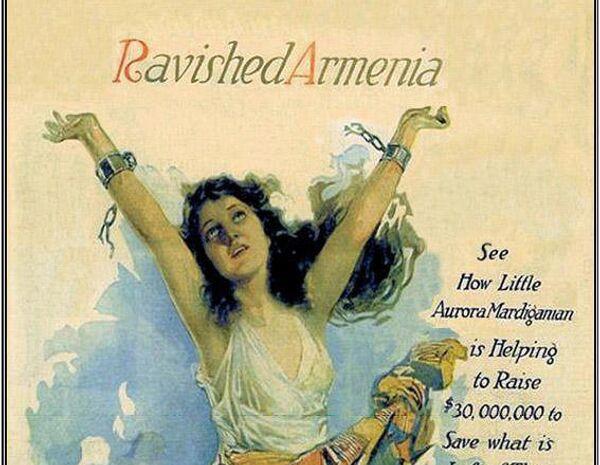 Cartel de la película 'Armenia Destrozada', también conocida como 'Subasta de Almas' - Sputnik Mundo