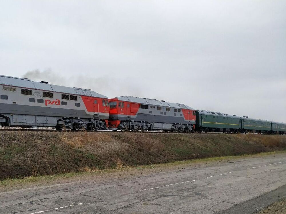 La histórica visita de Kim Jong-un a Rusia, en imágenes