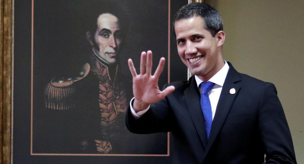 Juan Guaidó, autoproclamado presidente de Venezuela