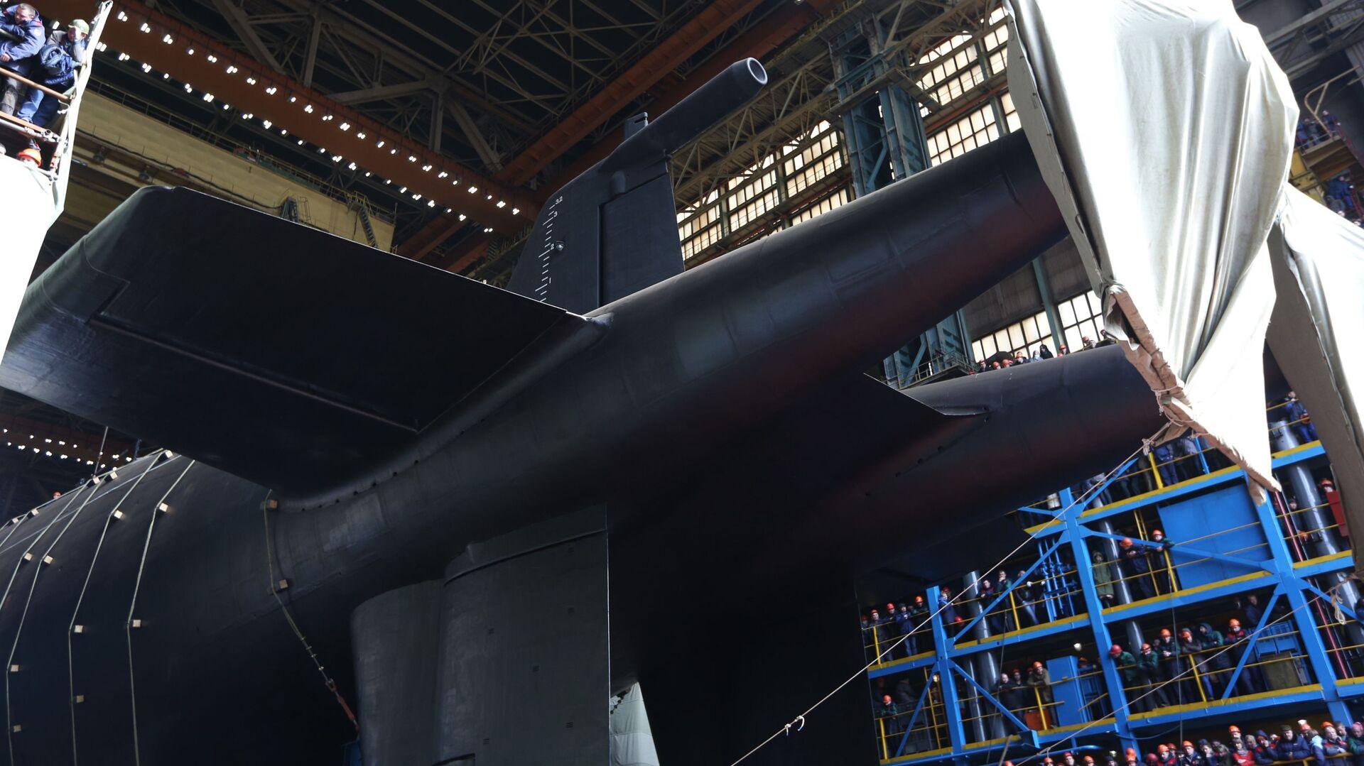 La botadura del submarino Belgorod, portador del Poseidon - Sputnik Mundo, 1920, 05.04.2021