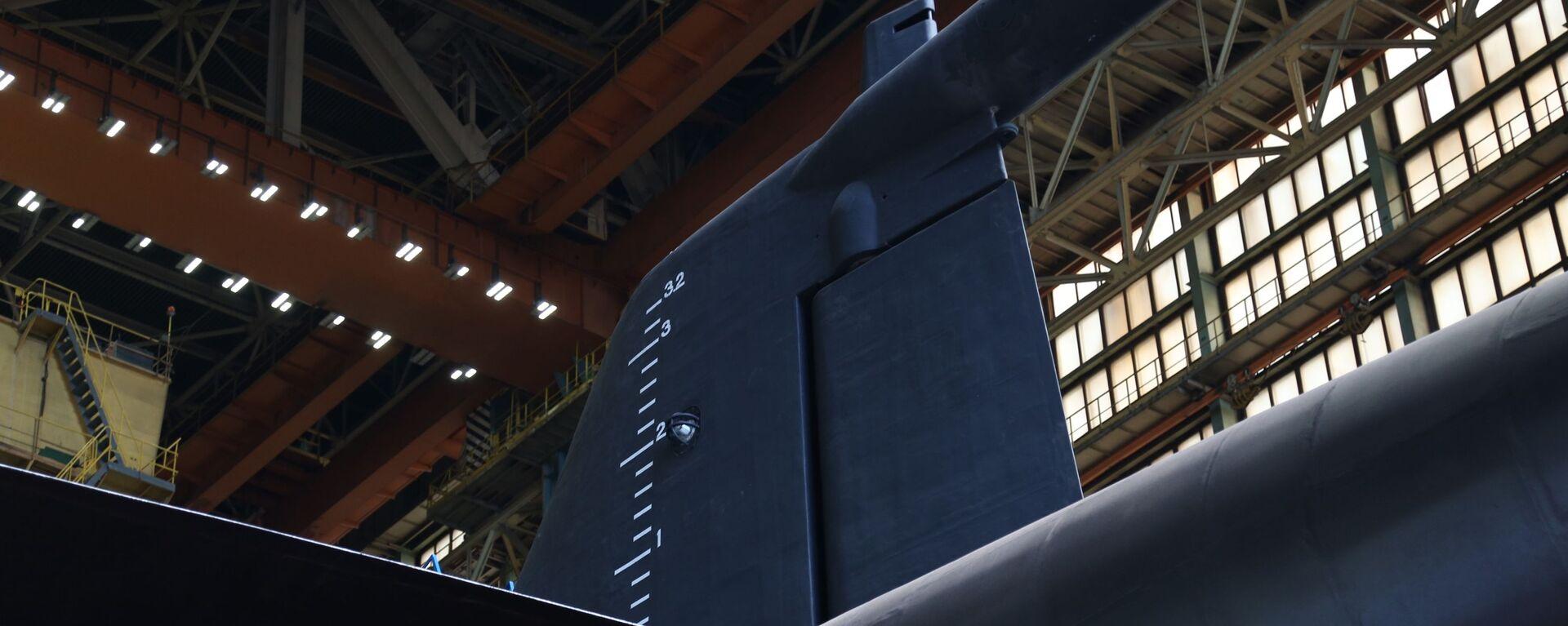 Fragmento del submarino nuclear Belgorod - Sputnik Mundo, 1920, 14.02.2021