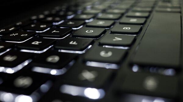 Un teclado, imagen referencial - Sputnik Mundo