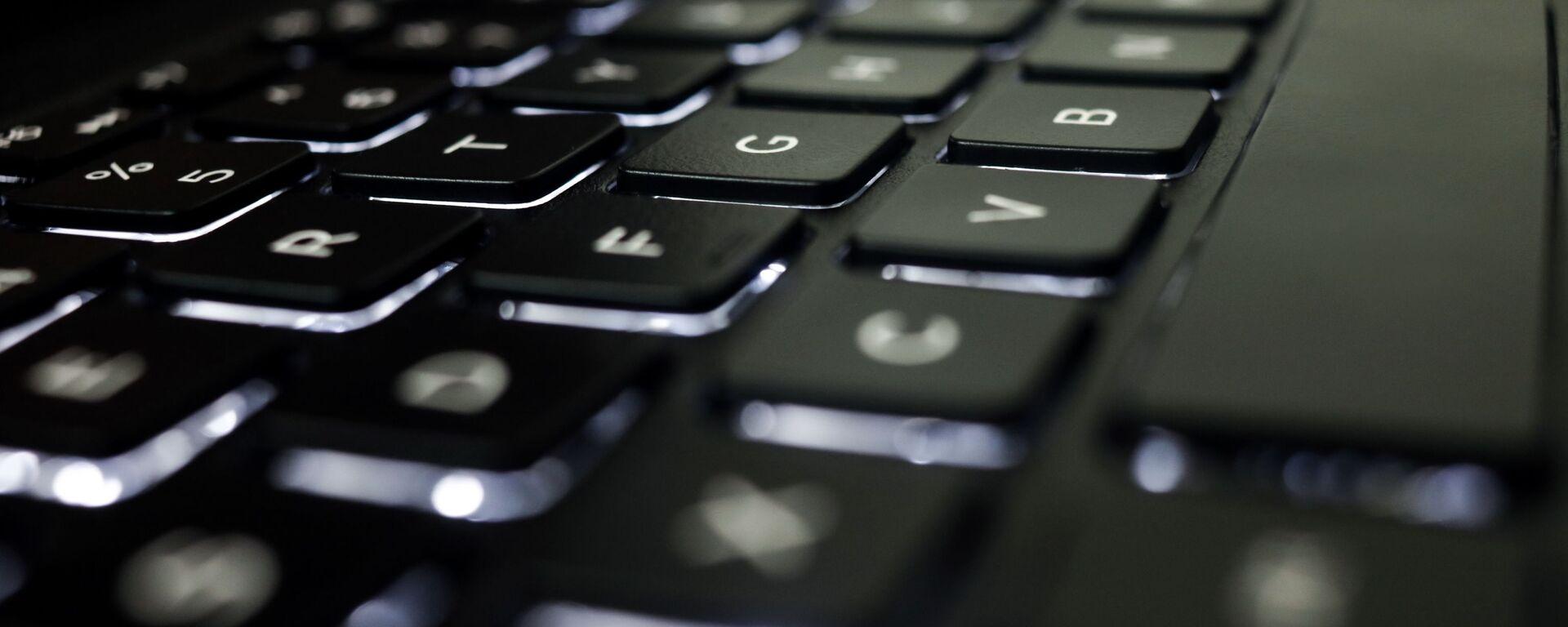 Un teclado, imagen referencial - Sputnik Mundo, 1920, 08.04.2021