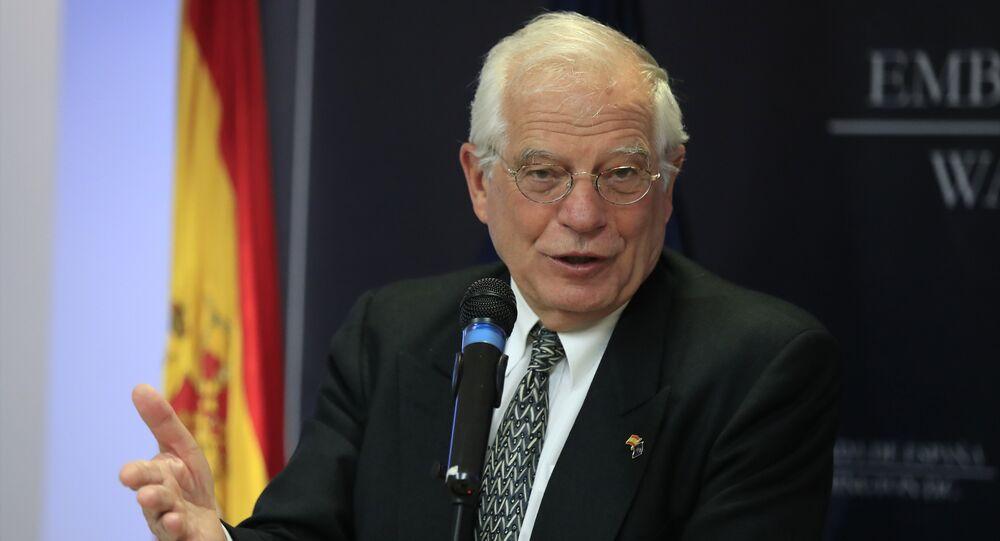 Josep Borrell, alto representante de la Unión Europea para Asuntos Exteriores