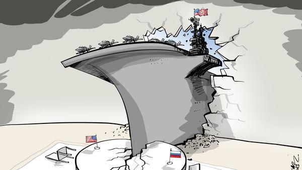 EEUU acude a su mayor arma diplomática: los portaviones - Sputnik Mundo