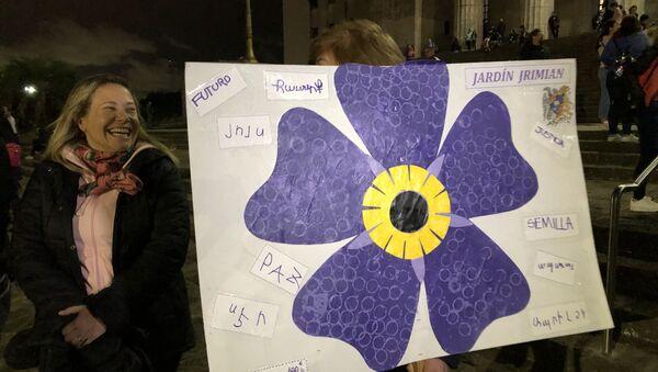 Movilización contra Turquía en Argentina por el 104 aniversario del Genocidio Armenio - Sputnik Mundo