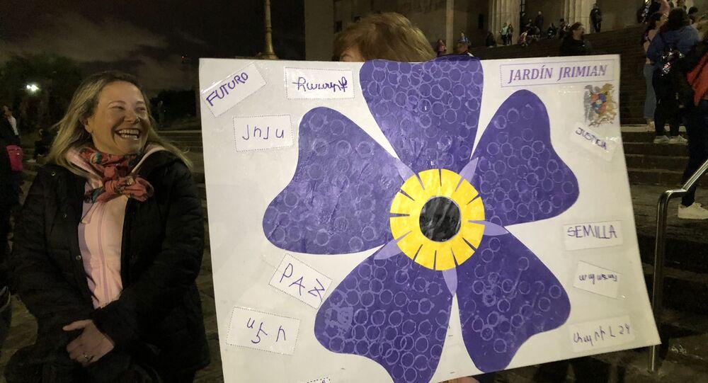 Movilización contra Turquía en Argentina por el 104 aniversario del Genocidio Armenio