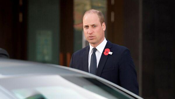 El príncipe Guillermo de Inglaterra visitó la ciudad de Christchurch - Sputnik Mundo