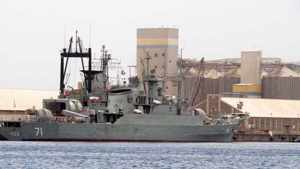 Un barco iraní - Sputnik Mundo