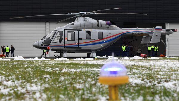 Helicóptero ruso Ansat - Sputnik Mundo