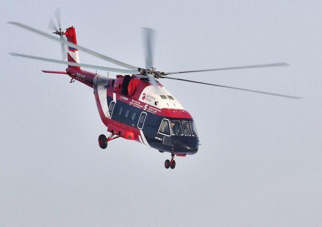Uno de los helicópteros rusos más modernos, el Mi-38