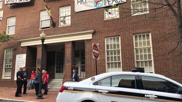 Embajada de Venezuela en Washington, EEUU - Sputnik Mundo