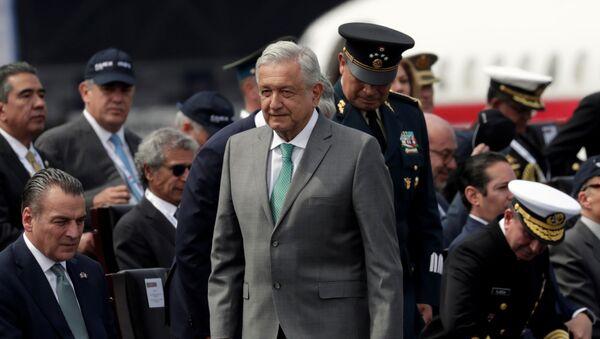 El presidente Andrés Manuel López Obrador - Sputnik Mundo